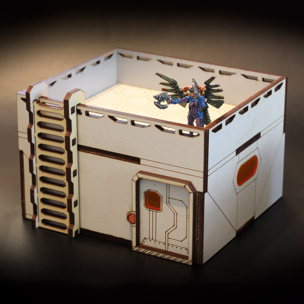 laser cut mdf terrain