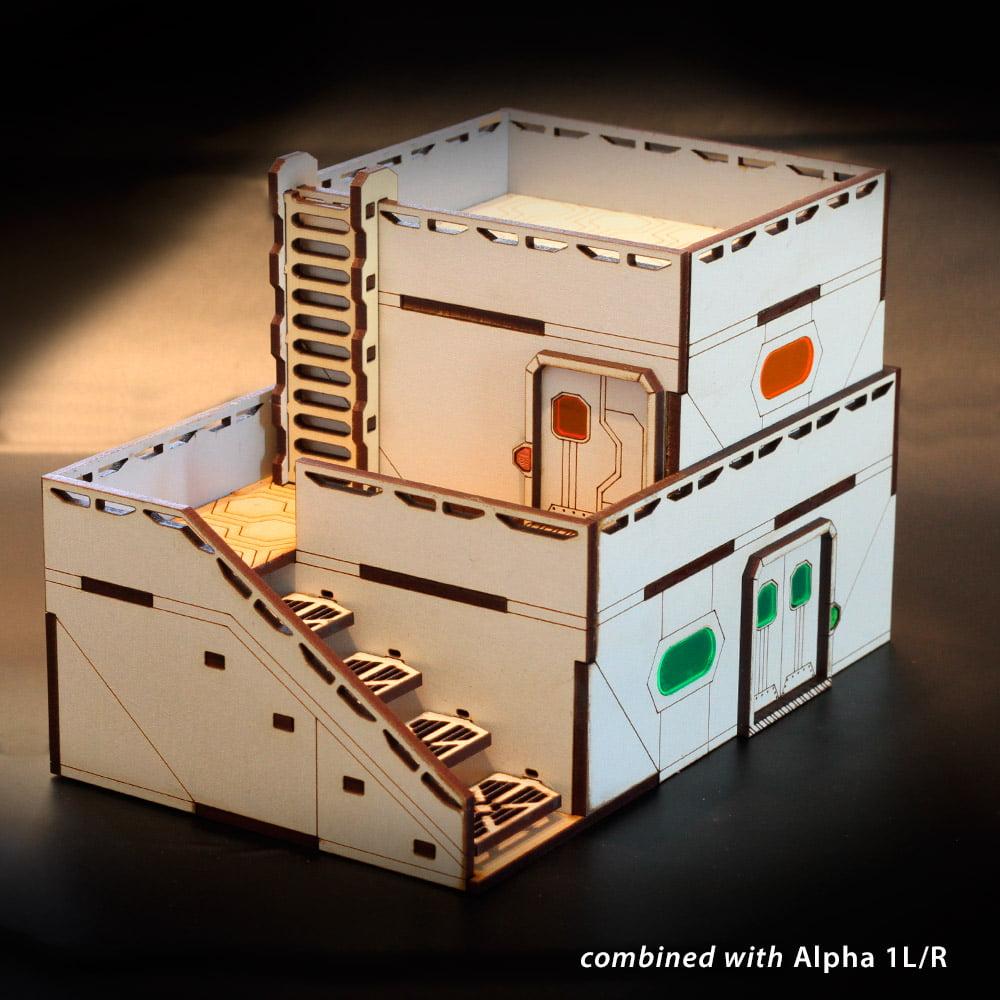 modular infinity laser terrain
