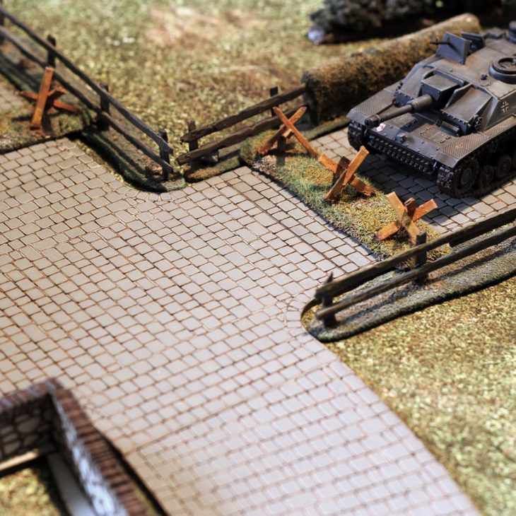 cobbled roads for bolt action