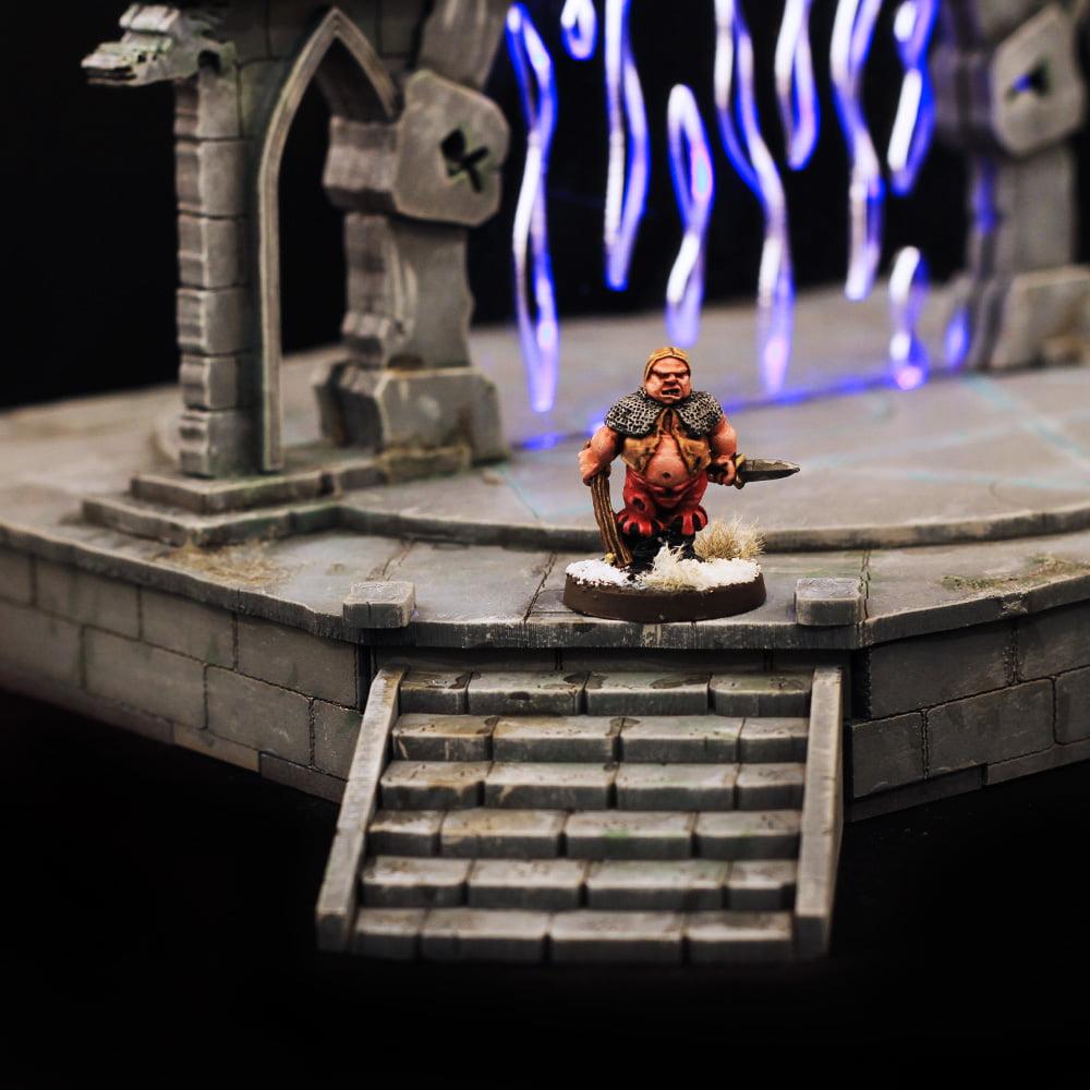 28mm wargame fantasy terrain of a portal